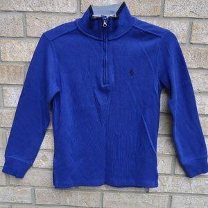 S(8)Boy's Polo Ralph Lauren 1/2 Half Zip Sweater .